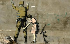 Banksy-Art-Anti-War-wall-pictures-for-living-room-canvas-wall-art-printed-oil-paintings-with